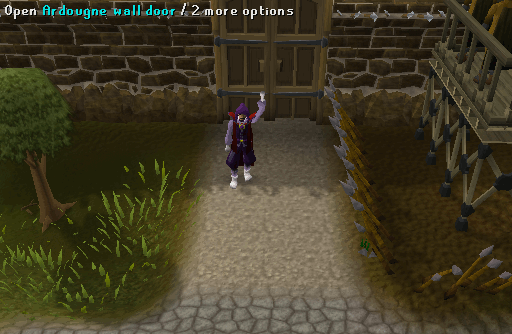 West Ardougne City Gate