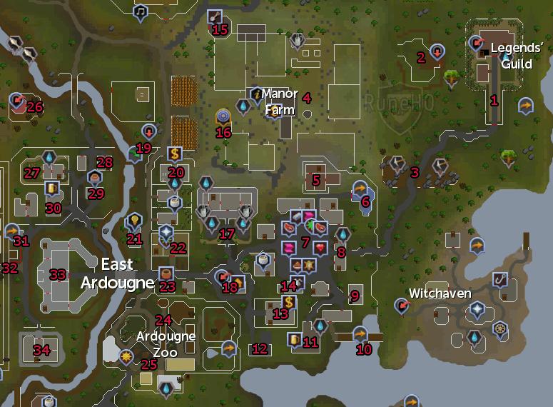 Ardougne (East) - RuneScape Guide - RuneHQ