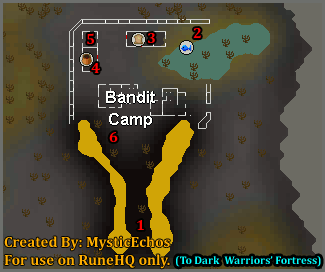 Bandit Camp Map