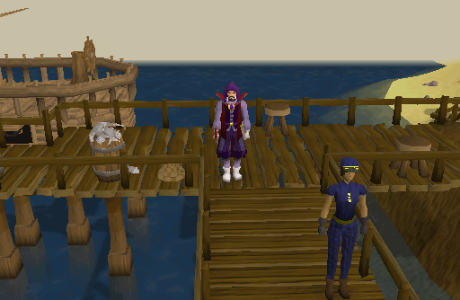 Dock To and From Ardougne