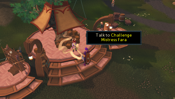 challenge mistress fara