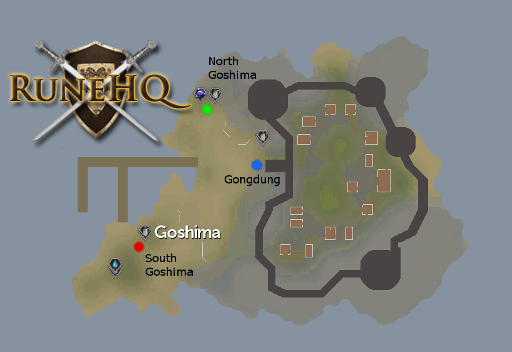 Map of Goshima