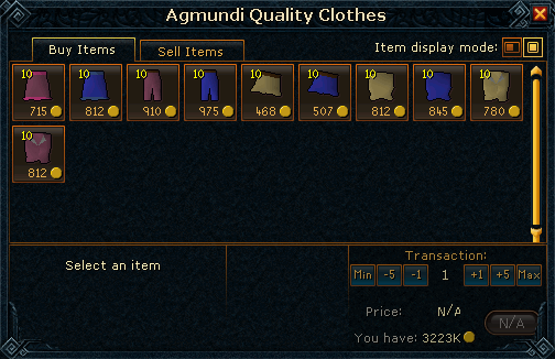 Agmundi Quality Clothes