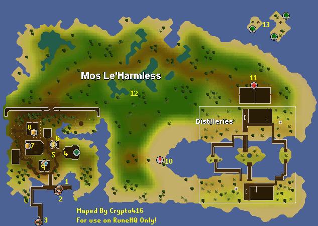 Mos Le Harmless Runescape Guide Runehq