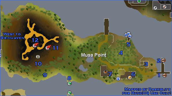 Musa Point Runescape Guide Runehq
