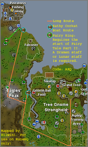 osrs how to get to piscatoris
