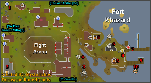 Port Khazard Map