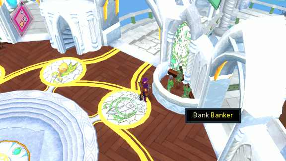 Prifddinas Bank and Grand Exchange