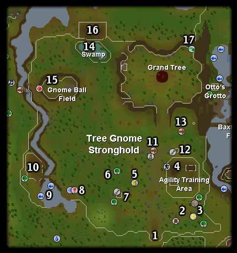 Tree Gnome Stronghold Runescape Guide Runehq