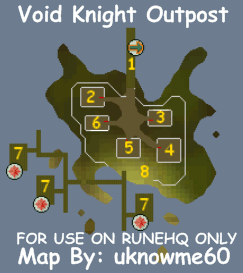 Void Knight Outpost Map