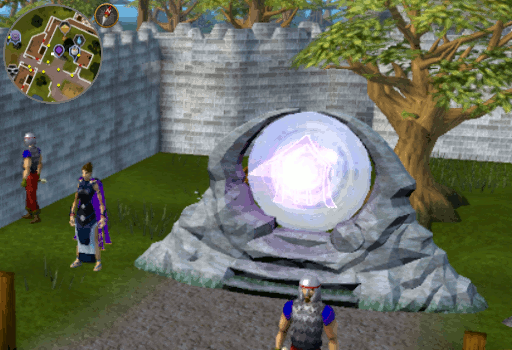 Player Owned House Portal