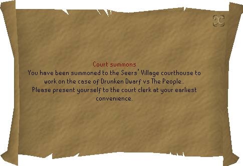 Drunken Dwarf Summons