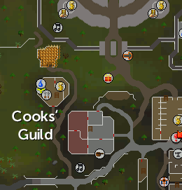Cooks'Guild Map