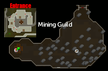 Mining Guild Location
