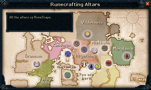 Runecrafting Guild - RuneScape Guide - RuneHQ