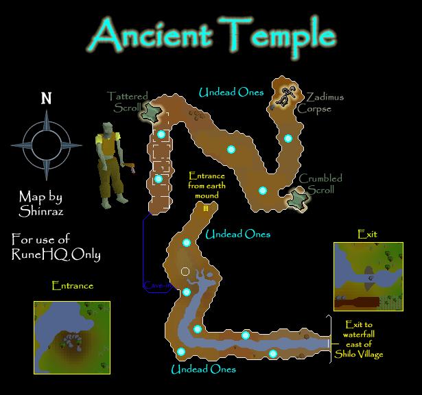Ancient Temple Map