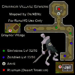 Draynor Sewer Map