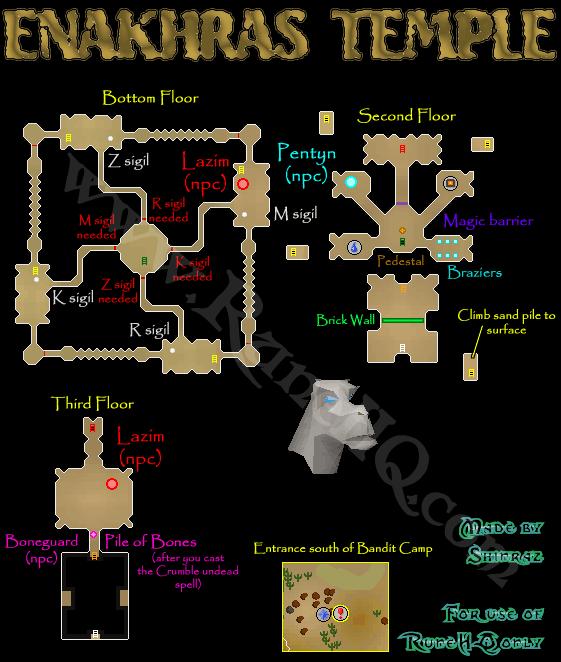 Enakhra's Temple - RuneScape Guide - RuneHQ