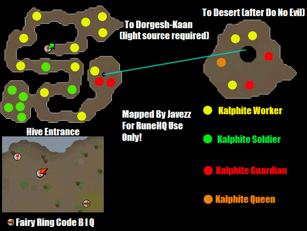 Kalphite Hive Map Runescape Guide Runehq The goal of this solo kq guide is to teach any info. kalphite hive map runescape guide