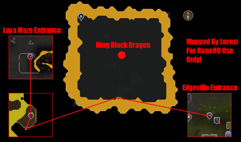 King Black Dragon Lair Map