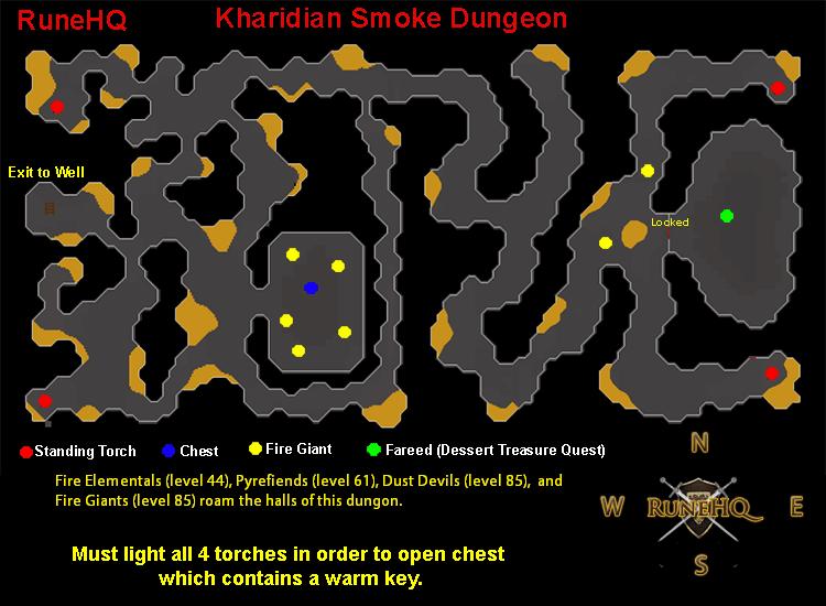 kharidian smoke dungeon - runescape guide