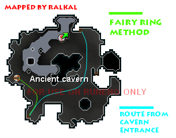 How to get to Kuradal's Dungeon