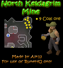North Keldagrim Mine Map