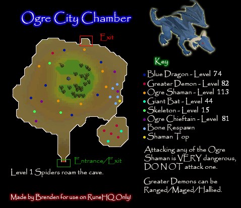 Ogre City Chamber Map
