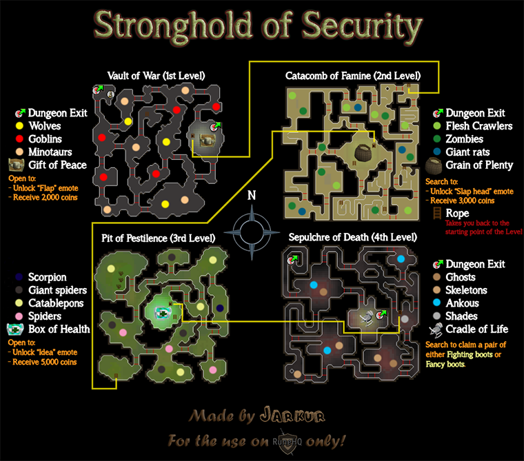 Security Map Stronghold of Security Map