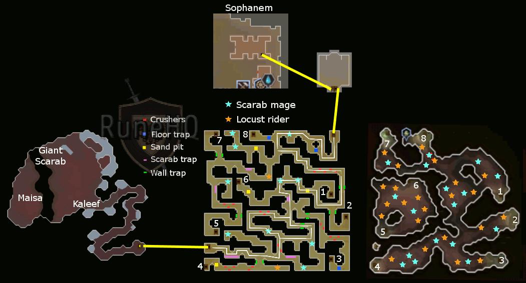 how to get to sophanem osrs