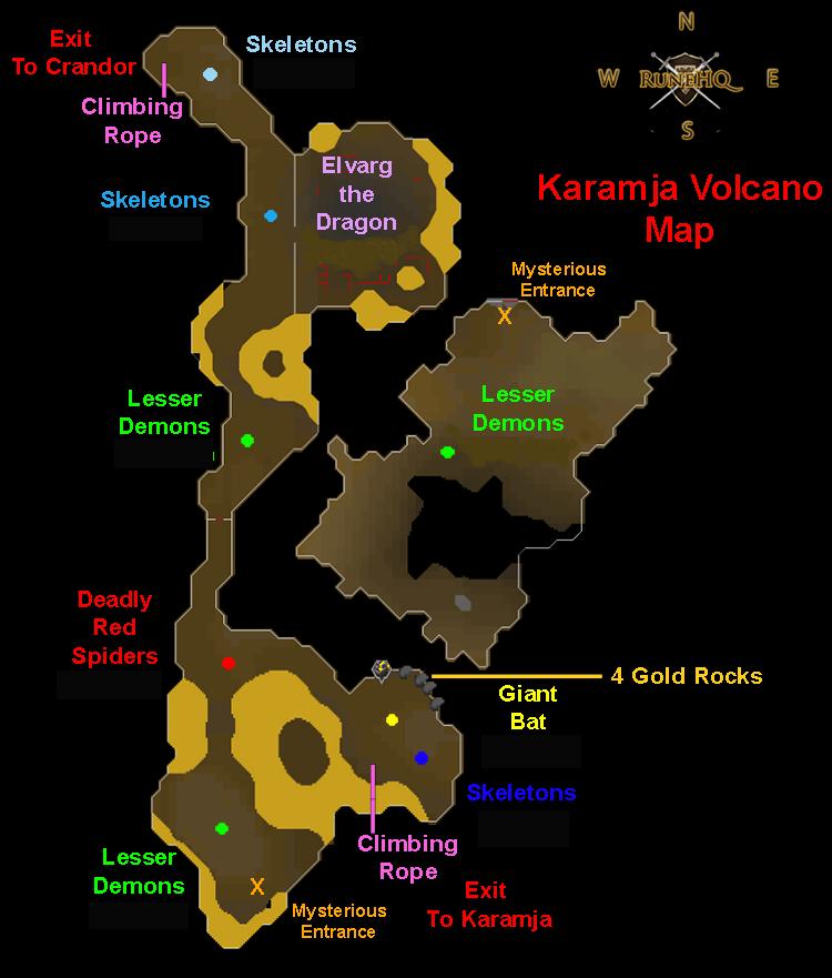 Karamja Volcano Dungeon