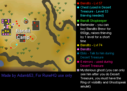 Desert Bandit Camp Map