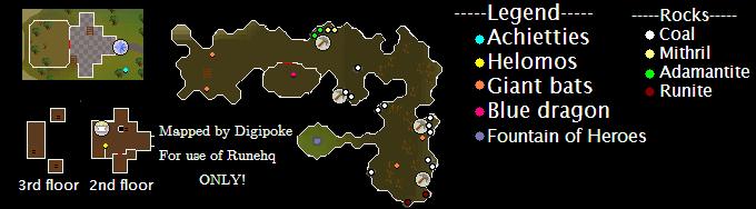 Heroes Guild Map