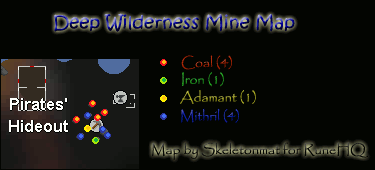 Deep Wilderness Mine Map