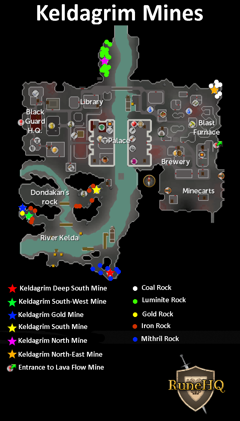 Keldagrim Mines - RuneScape Guide - RuneHQ on cities map, dwarf city map, nardah map, varrock map, lletya map, lumbridge map, rellekka map, rs map, ape atoll map,
