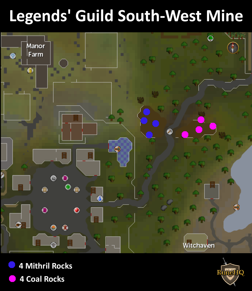 Legends' Guild South-West Mine