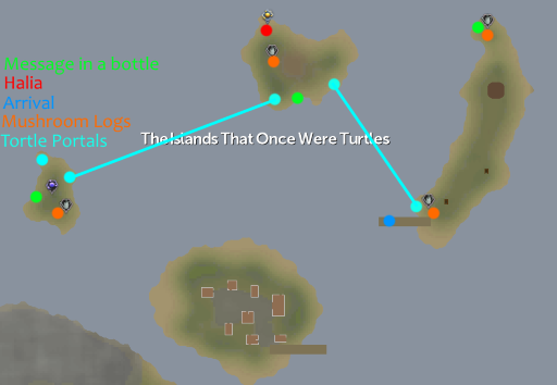 Turtles Map