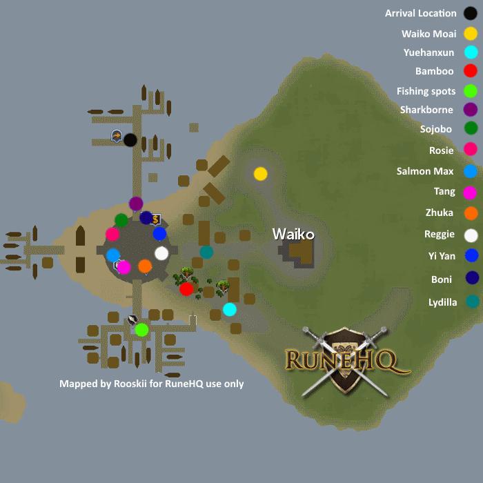 Wushanko Isles - RuneScape Guide - RuneHQ