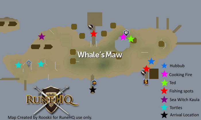 Whales Maw Map