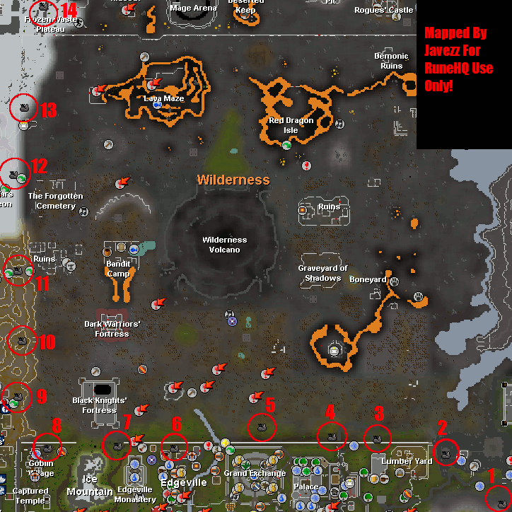 Beacon Map