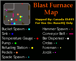 Map of Blast Furnace