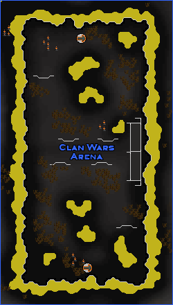 Clan Wars arena location