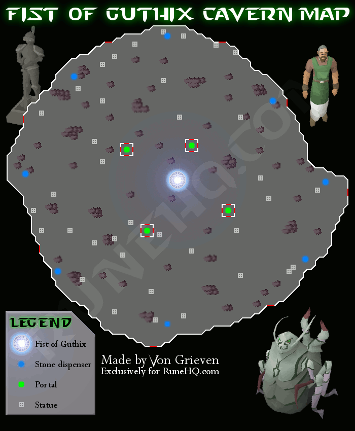 Fist of Guthix map