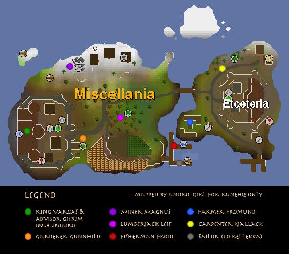 OSRS Kingdom of Miscellania - RuneScape Guide - RuneHQ