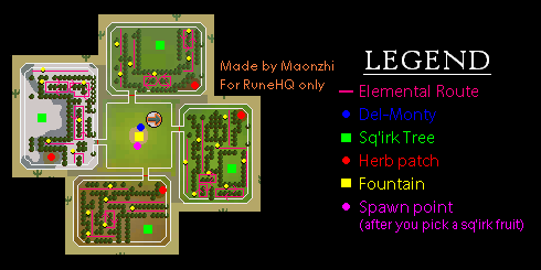 Elemental Route Map