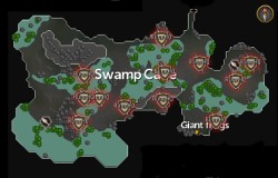 Lumbridge Swamp Caves scan locations