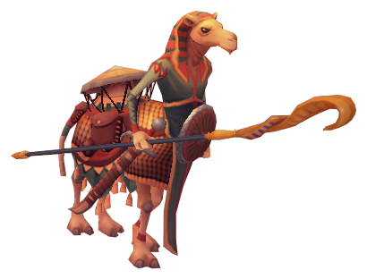 Camel warrior