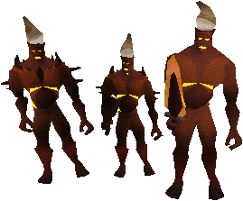 Fire giant - RuneScape Monster - RuneHQ