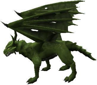 Green Dragon Runescape Monster Runehq