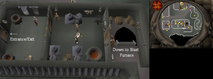 Osrs Blast Furnace Runescape Guide Runehq